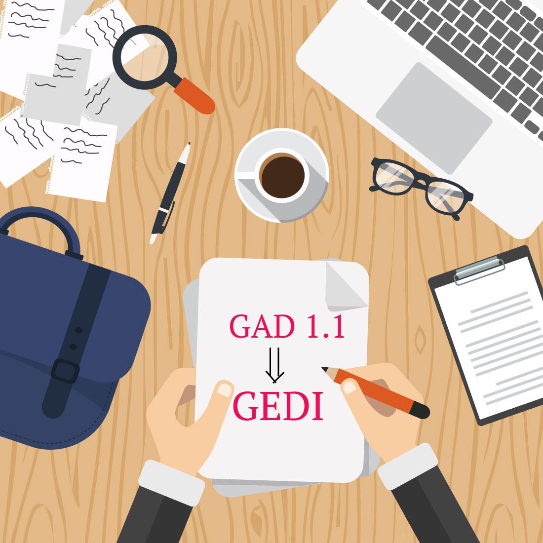 Il GAD 1.1 viene sostituito con il nuovo GEDI